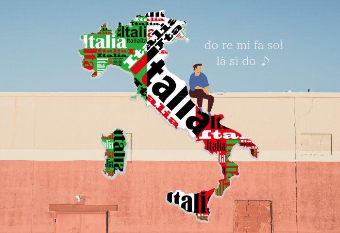 ドレミはイタリア語