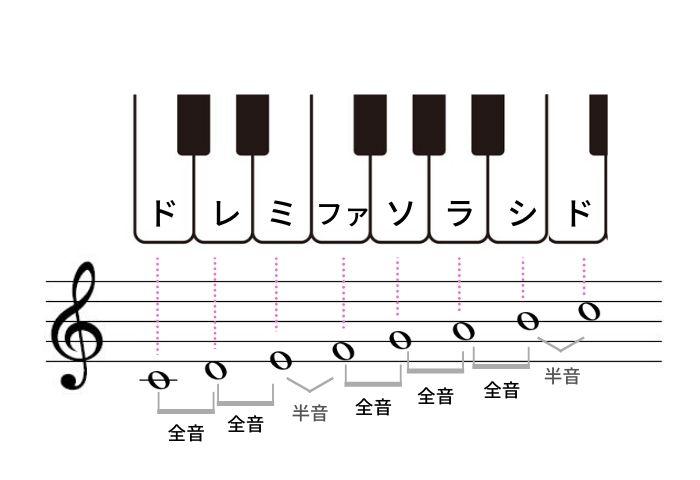 長音階の構成
